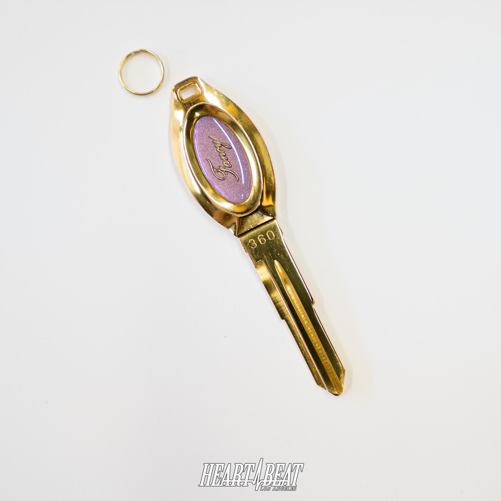 Royal Clover key Fancy purple M360 Honda